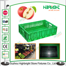 Collapsible Vegetable Plastic Crates Bins
