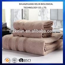Conjunto de toalha de banho de fibra de bambu 100%