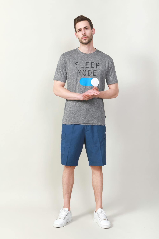 Men's cotton multi-pocket bumuda short