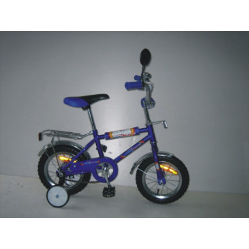 """Bicicleta de 12 """"con marco de acero para niños (BT1201)"""