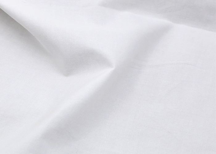 White Plain Fabric