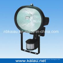 500W Halogenlampe mit PIR-Sensor (KA-FL-500D)