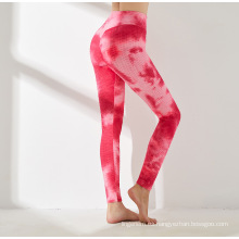 Tummy Control Mid Leggings elásticos de cintura Pantalones deportivos