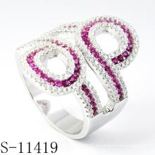 925 Sterling Silber Modeschmuck Ring für Frau (S-11419)