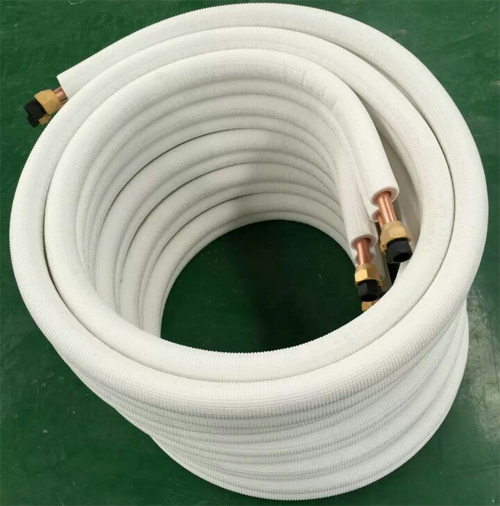 Copper aluminum connection pipe