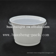 China Factory Food Grade 320ml disposable PP plastic soup cup