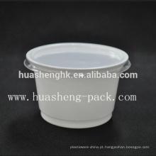 China Factory Food Grade 320 ml descartável PP copo de sopa de plástico
