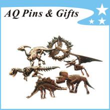 Placa de recuerdo de metal para los juegos del hambre (insignia-218)