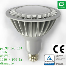 bongs sales TUV CE UL 16W par38 led bulbs