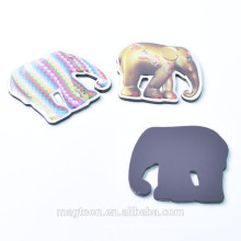 3d souvenir fridge magnet customized elephant shape epoxy magnet