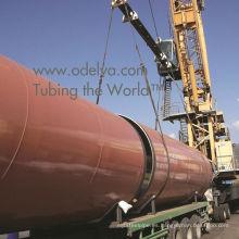 Transporte de agua EN 10217-1 Tubos de acero