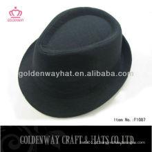 2014 100% lã sentiu aba larga indiana jones chapéu de fedora barato