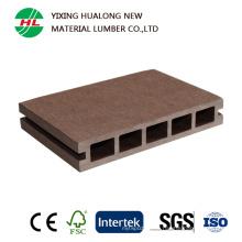 Decking полости WPC деревянный пластичный составной Открытый настил