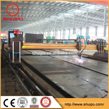 cnc sheet metal cutting machine/plasma cutting machine/cnc plasma cutting machines from SHUIPO