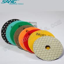 Almohadillas de pulido del diamante de la alta calidad 3 ~ 7 pulgadas (SA-056)