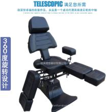 Cadeira de tatuagem dobrável multi-função hidráulica confortável