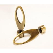 Dernier design Allemagne Market Antique Brass Curtain Rod Sleeve