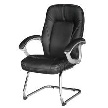 Black PU Leather Office Ergo Armrest Chair