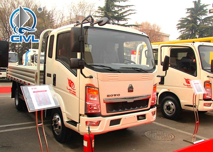 White Light Cargo Sidewall Truck 1