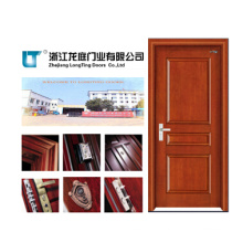 Solid Wooden Door with ISO9001 Approval (LTS-310)