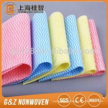 nonwove viscose рейона, ткань для очистки /салфетки 38см*40см