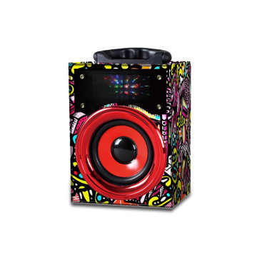 Mini altavoz de luces led bluetooth