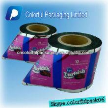 Película de empacotamento laminada impressa costume para doces / alimento / petisco