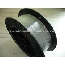 Arame de aço galvanizado a quente para malha de arame e blindagem de cabos
