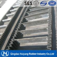 Gute Qualität Großer Winkel Wellpappe Seitenwand Förderband mit SGS und Forma