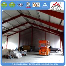 Différents types d'entrepôt de construction en acier préfab