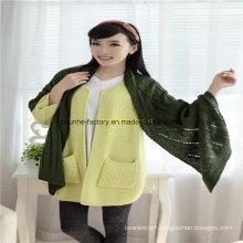 Top Quality Wholesale Fashion Knitting Scarf/Lady Scarf/Shawl Scarf