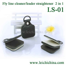 Leader Straightener and Line Cleaner 2in1