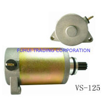 Low Noise Highly Reliability Iron / Aluminum Motorcycle Starting Motor Vs125