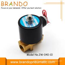 24V 4,0 mm orificio Unid 2 válvulas de solenoide de agua de manera