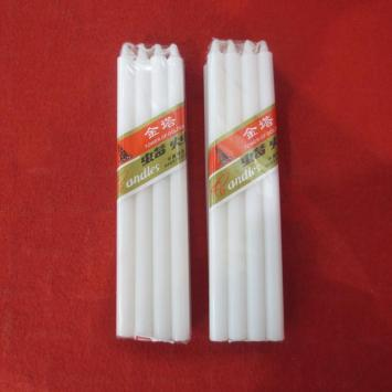 Low price paraffin wax household bougies candle