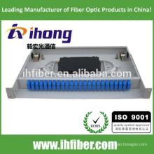 Fábrica montada en rack tipo fijo de fibra óptica caja de terminales