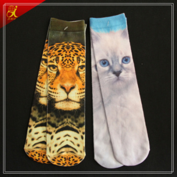 2015 impression animale Tube Socks