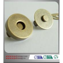 Botones magnéticos para la ropa