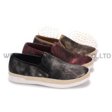 Women′s Shoes Leisure PU Shoes with Rope Outsole Snc-55001