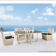 Rattan/Peddigrohr Tisch und Stuhl-Sets (7041)