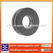 Round ring cylinder shape strong Sintered NdFeB Motor Magnets/NICUNI coated ring magnet for sale