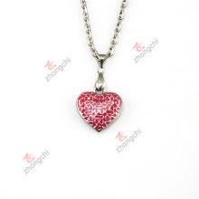 Fashion Love Heart Lockets Encantos Colgantes Collar Regalos de la joyería (HPN50824)