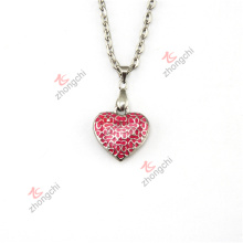 Fashion Love Heart Lockets Charms Pendants Necklace Jewelry Gifts (HPN50824)