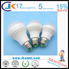 shenzhen factory price 3 5 7 9 12w led bulb light lamp