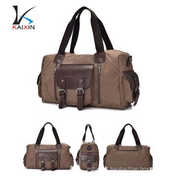 2017 new long haul canvas large capacity men or women shoulder slant bag luggage travel bag