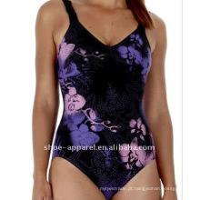 Alta qualidade impresso swimwear mulheres 2013, maiô de uma peça