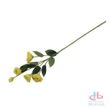 Suporte de pano de fundo de parede de flor de seda de casamento acrílico