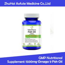 GMP Suplemento Nutricional 1500mg Omega 3 Óleo de Peixe