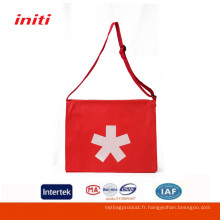 Vente en gros de sac à bandoulière en tissu personnalisé écologique