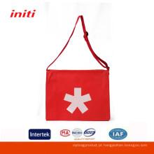 Atacado Eco-Friendly Customized tecido saco de ombro